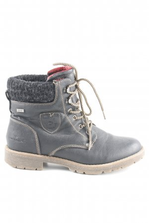 Tom Tailor Short Boots anthracite-grey casual look