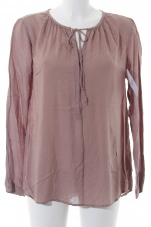 Tom Tailor Langarm-Bluse beige Casual-Look
