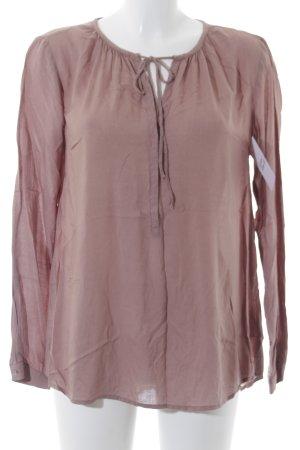 Tom Tailor Langarm-Bluse beige Casual-Look