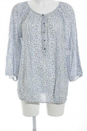 Tom Tailor Langarm-Bluse florales Muster Casual-Look