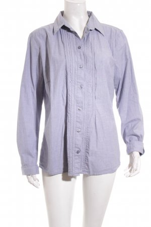 Tom Tailor Langarm-Bluse hellblau Casual-Look