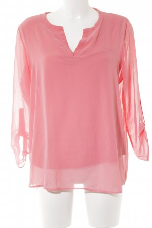 Tom Tailor Langarm-Bluse lachs Casual-Look