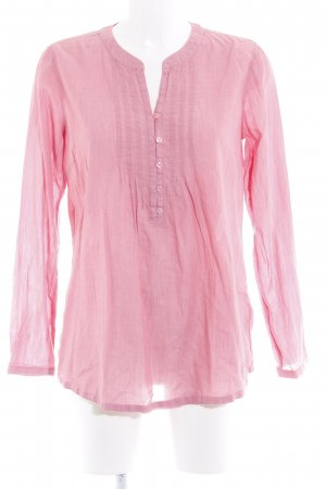Tom Tailor Langarm-Bluse rosa Romantik-Look