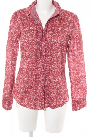 Tom Tailor Langarmhemd Blumenmuster College-Look