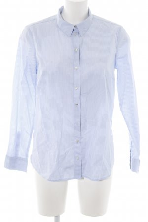 Tom Tailor Langarmhemd blau-weiß Streifenmuster Business-Look