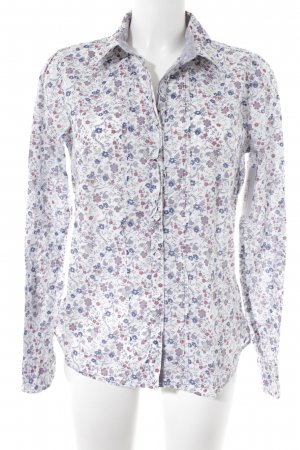 Tom Tailor Langarmhemd florales Muster Casual-Look