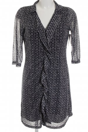 Tom Tailor Langarmkleid abstraktes Muster Gypsy-Look