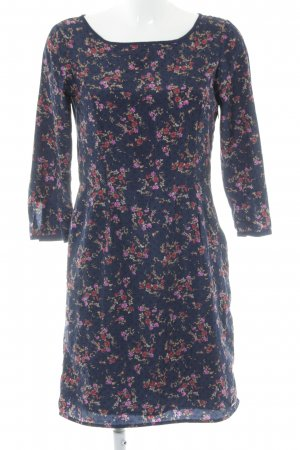 Tom Tailor Langarmkleid Blumenmuster Casual-Look