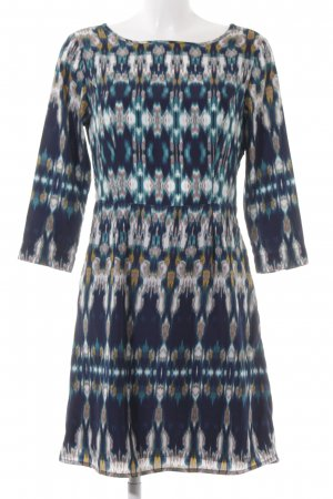 Tom Tailor Langarmkleid psychedelic-Muster Beach-Look