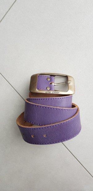 Tom Tailor Cintura di pelle blu-viola