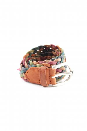 Tom Tailor Cintura di pelle multicolore stile casual
