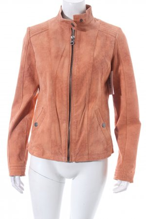 Tom Tailor Lederjacke nude Biker-Look