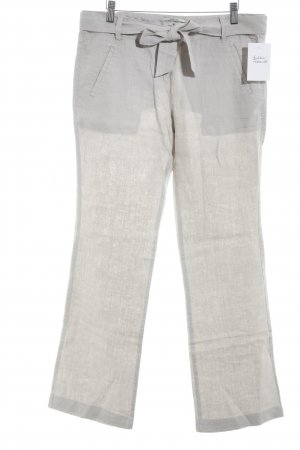 Tom Tailor Leinenhose blasslila Casual-Look