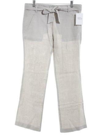 Tom Tailor Pantalón de lino malva look casual