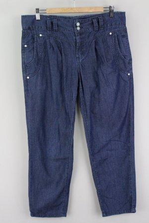 Tom Tailor Leinenhose Denim blau Größe W29 1707160510497