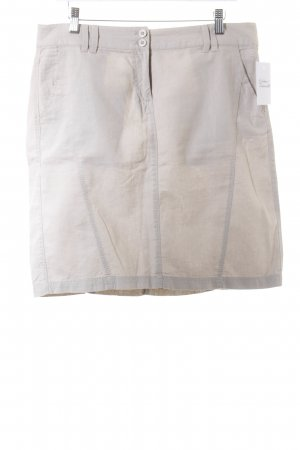 Tom Tailor Leinenrock beige Casual-Look