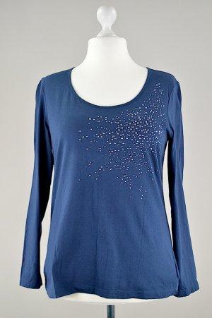 Tom Tailor Longshirt blau Größe XL