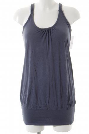 Tom Tailor Long Top steel blue athletic style