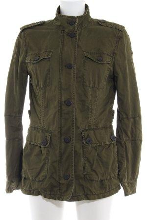 Tom Tailor Marinejacke olivgrün Street-Fashion-Look