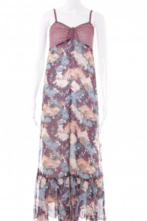 Tom Tailor Maxikleid Blumenmuster Hippie-Look