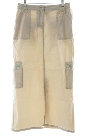 Tom Tailor Maxirock beige Casual-Look