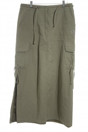 Tom Tailor Maxi Skirt green grey casual look