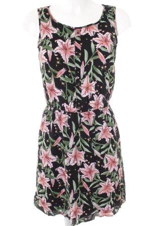 Tom Tailor Minikleid Blumenmuster Casual-Look