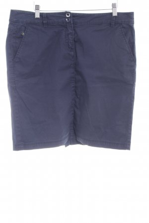 Tom Tailor Minirock dunkelblau Casual-Look
