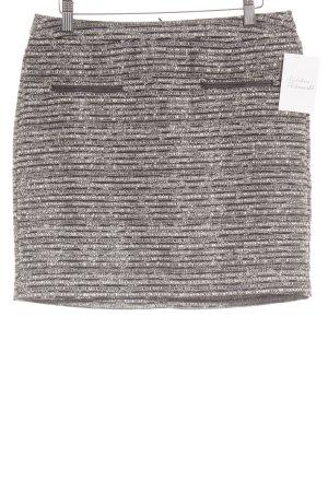 Tom Tailor Minirock schwarz-weiß Farbverlauf klassischer Stil