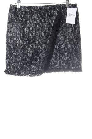 Tom Tailor Minirock schwarz-weiß meliert Elegant