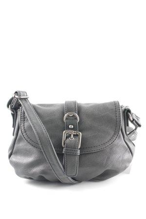 Tom Tailor Mini sac gris foncé style décontracté