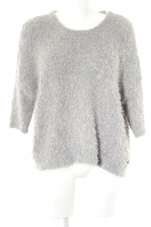 Tom Tailor Oversized Pullover grau Casual-Look