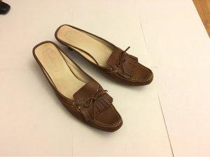 Tom Tailor Heel Pantolettes brown