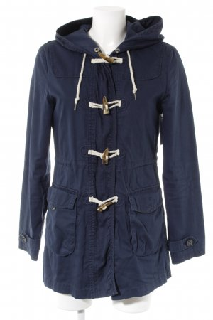 Tom Tailor Parka blau Casual-Look