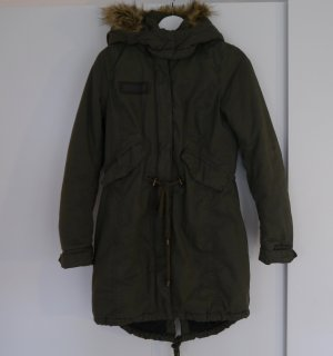Tom Tailor Parka Größe S in Olive