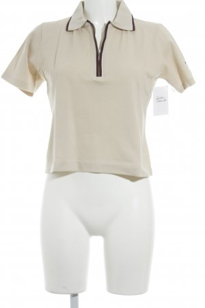 Tom Tailor Polo beige style décontracté