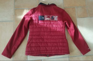 Tom Tailor Veste softshell rouge carmin