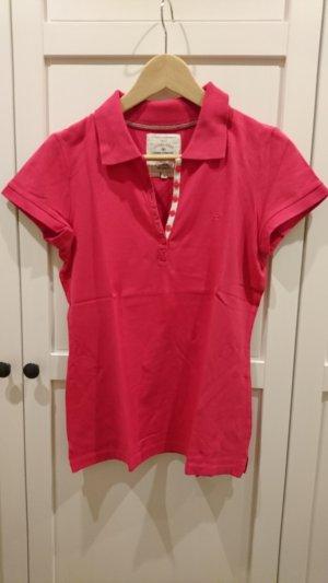 Tom Tailor Poloshirt, pink, Größe M