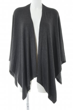 Tom Tailor Poncho anthrazit meliert Casual-Look