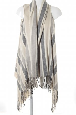 Tom Tailor Poncho Streifenmuster Urban-Look