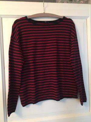 Tom Tailor Pullover blau / rot Streifen Gr. M