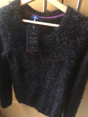 Tom Tailor Pullover schwarz und kuschelig