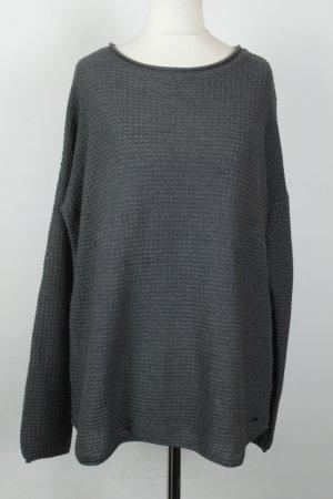 Tom Tailor Pullover Strickpullover Gr. XL grau oversized