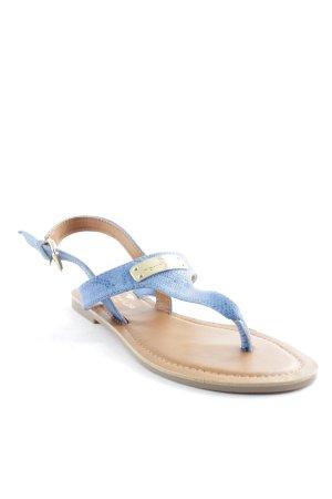 Tom Tailor Riemchen-Sandalen mehrfarbig Reptil-Optik