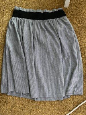 Tom Tailor Denim Flared Skirt grey