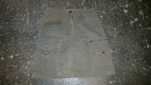 Tom Tailor Rock khaki/orange 34
