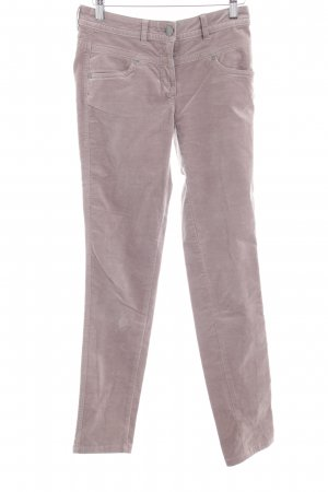 Tom Tailor Drainpipe Trousers grey brown Rivet elements