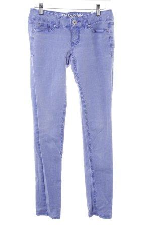 Tom Tailor Röhrenjeans blau Casual-Look