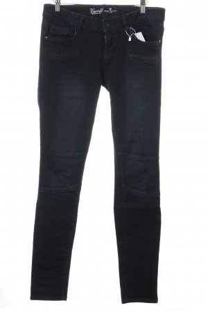 Tom Tailor Jeans a sigaretta blu scuro stile casual