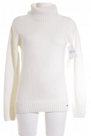 Tom Tailor Rollkragenpullover wollweiß Casual-Look